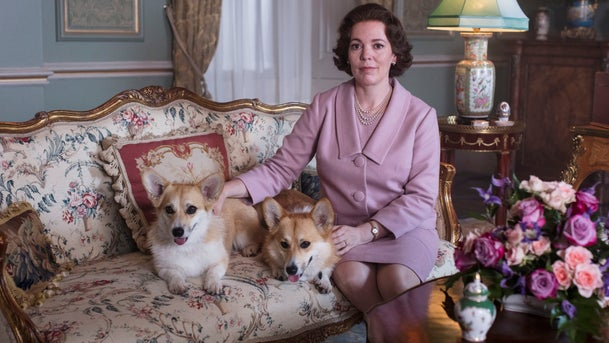 "Olivia Colman portrays Queen Elizabeth II in a scene from the third season of ""The Crown,"" on Netflix."