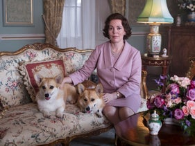 """Olivia Colman portrays Queen Elizabeth II in a scene from the third season of """"The Crown,"""" on Netflix."""