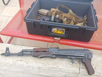 Weapons collected during gun-collection campaign in 2019.