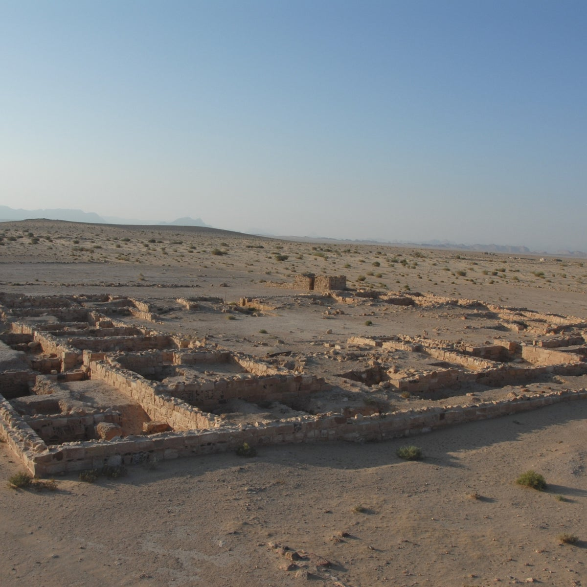 Humayma, ruins of an early Islamic trading post