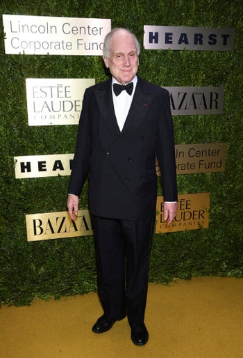 Ronald Lauder arriving at the Lincoln Center Corporate Fund Fashion Gala honoring his brother Leonard A. Lauder, in New York, November 18, 2019.