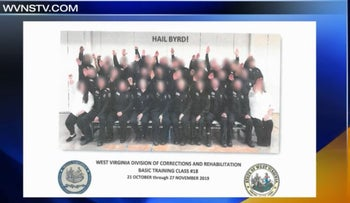 WV corrections trainees under fire for controversial photo