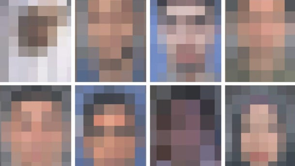 Pixelated photos of the IDF fighters who participated in the botched operation in Gaza's Khan Yunis in November 2018.