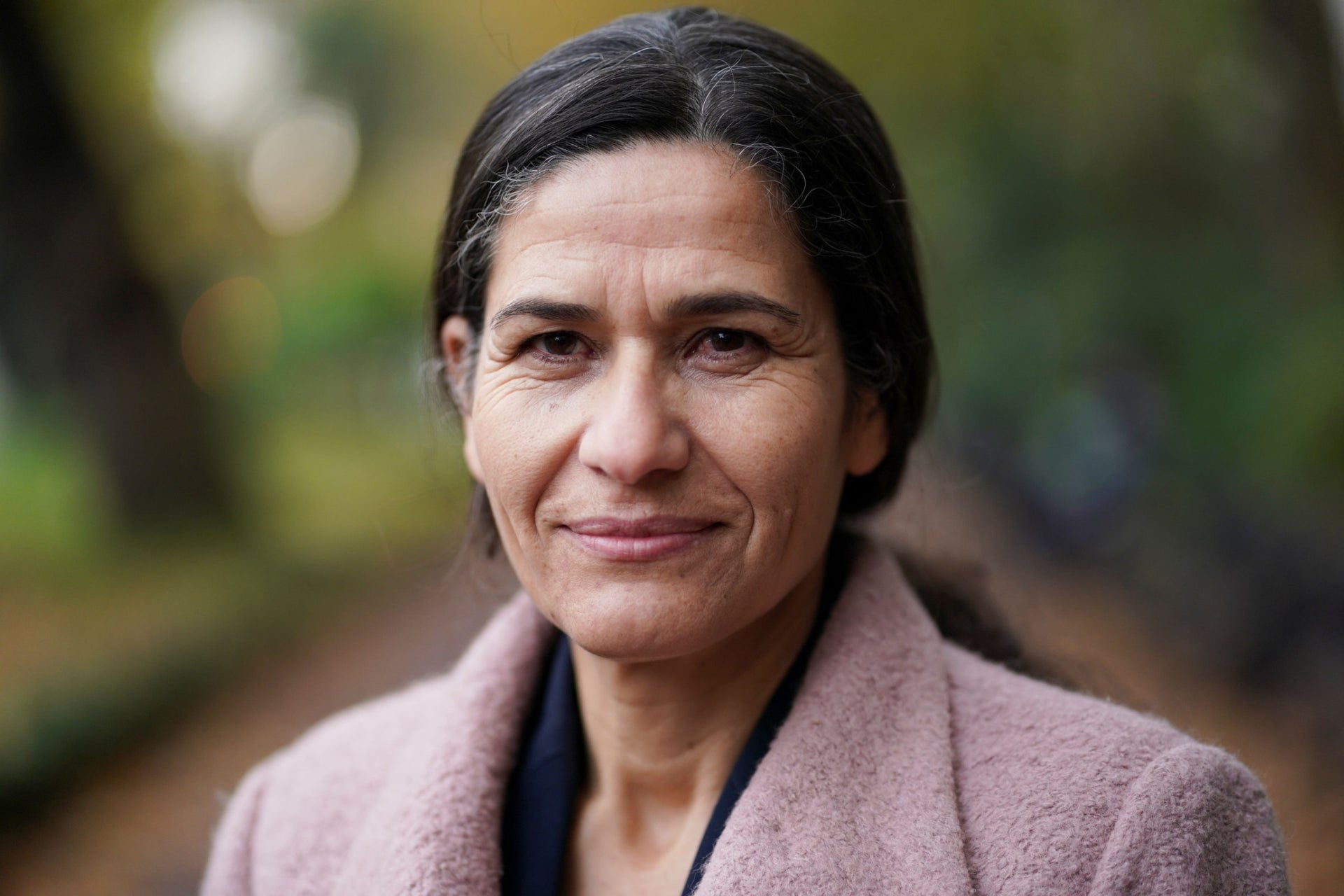 Kurdish official Ilham Ahmed, a co-chair of the Syrian Democratic Council, photographed in London, November 2019.