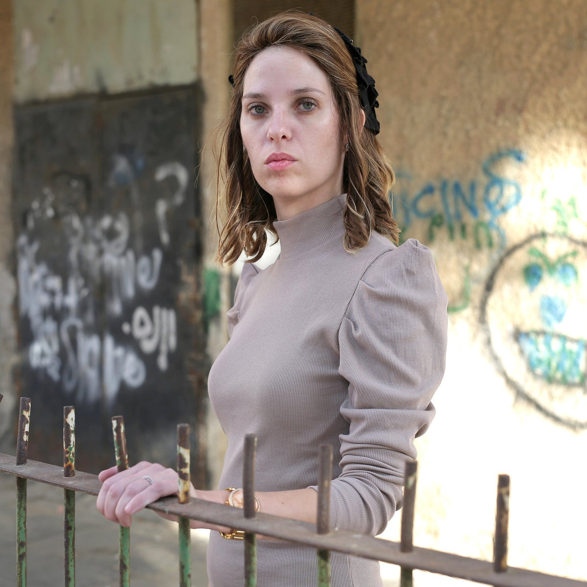 Malki Rotner, an ultra-Orthodox Israeli woman who stars in a documentary TV series on her Belz sect.