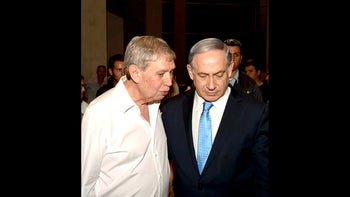 Benjamin Netanyahu and ex-Mossad chief Tamir Pardo