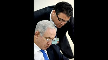 Benjamin Netanyahu and current Mossad chief Yossi Cohen