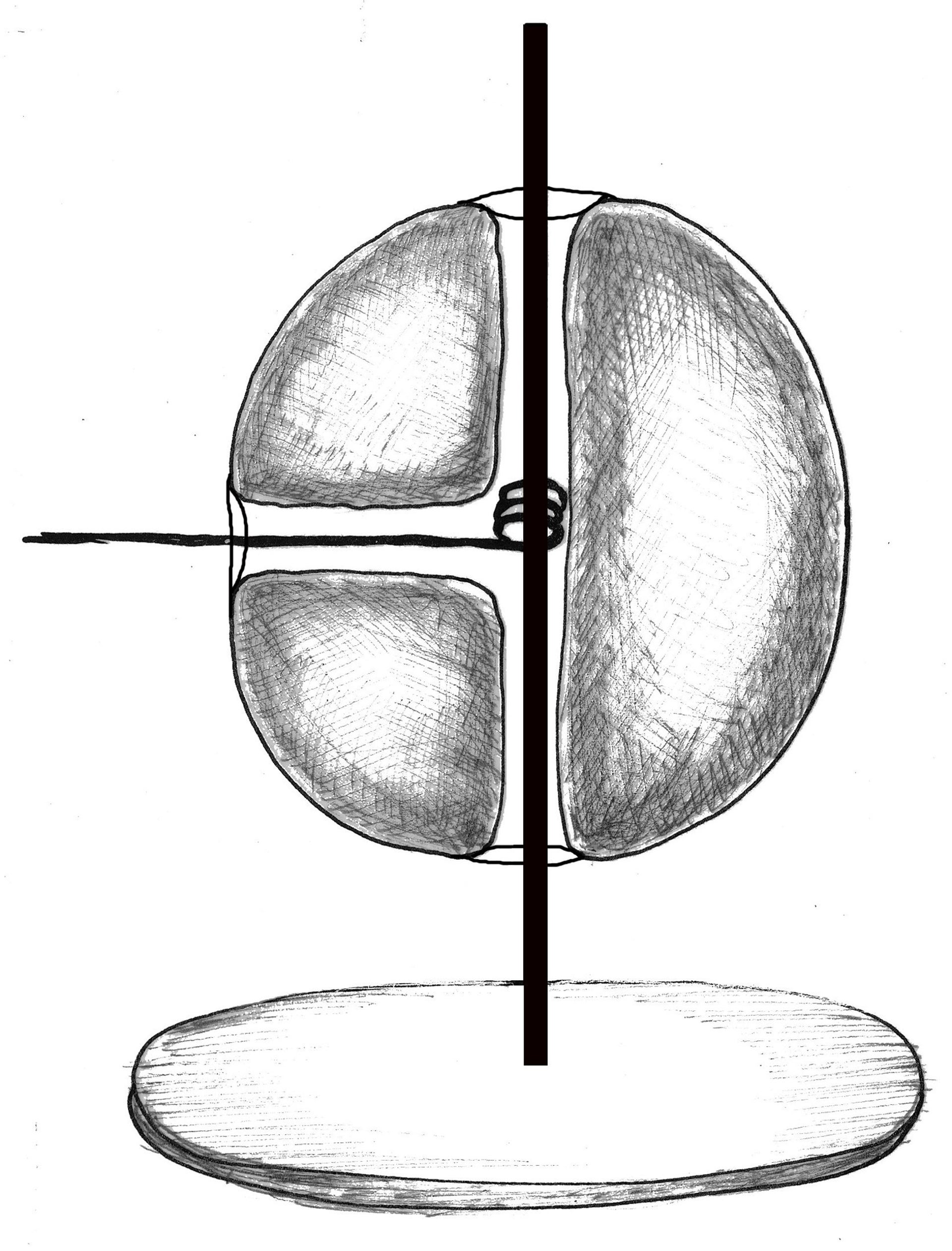 Illustration of a mechanical toy.