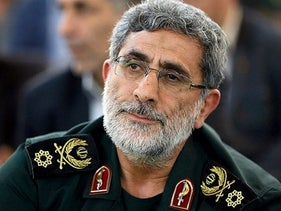 Gen. Ismail Qaani, who replaced Qassem Soleimani/