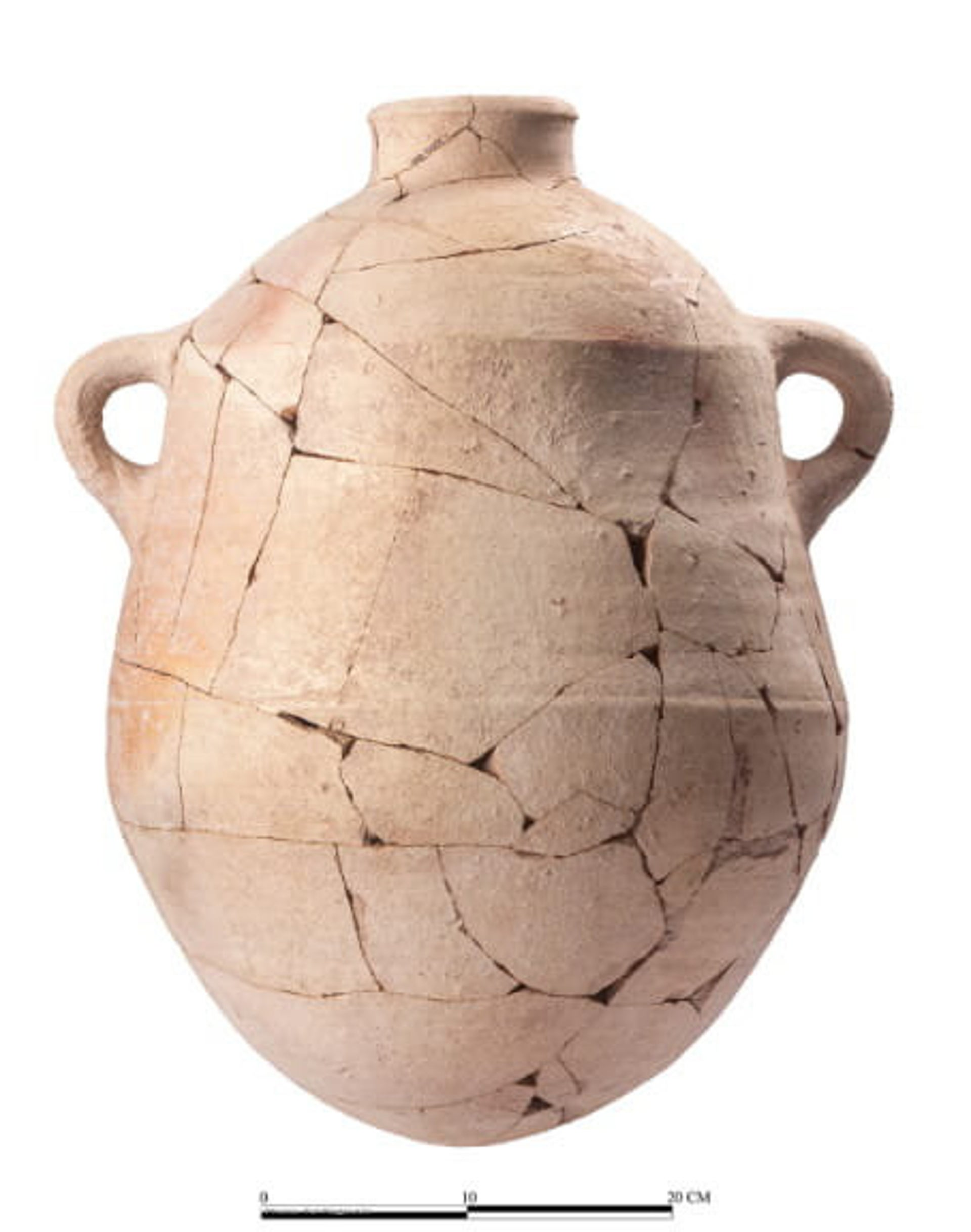 The inscribed jar found at Abel Beth Maacah