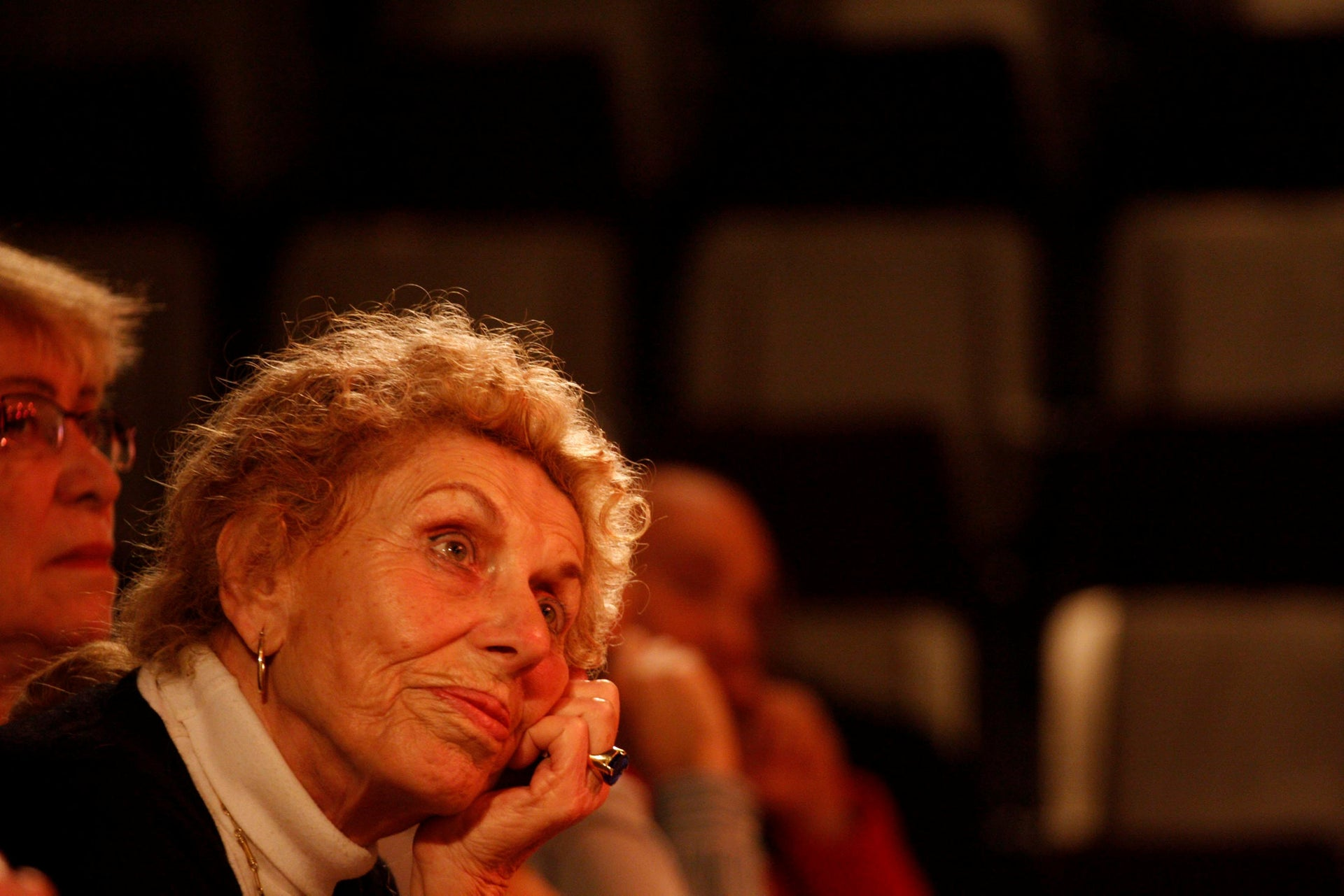 The former leader of Meretz and founder of the Ratz party, the late Shulamit Aloni. Achieved Meretz's best election result, in 1992.