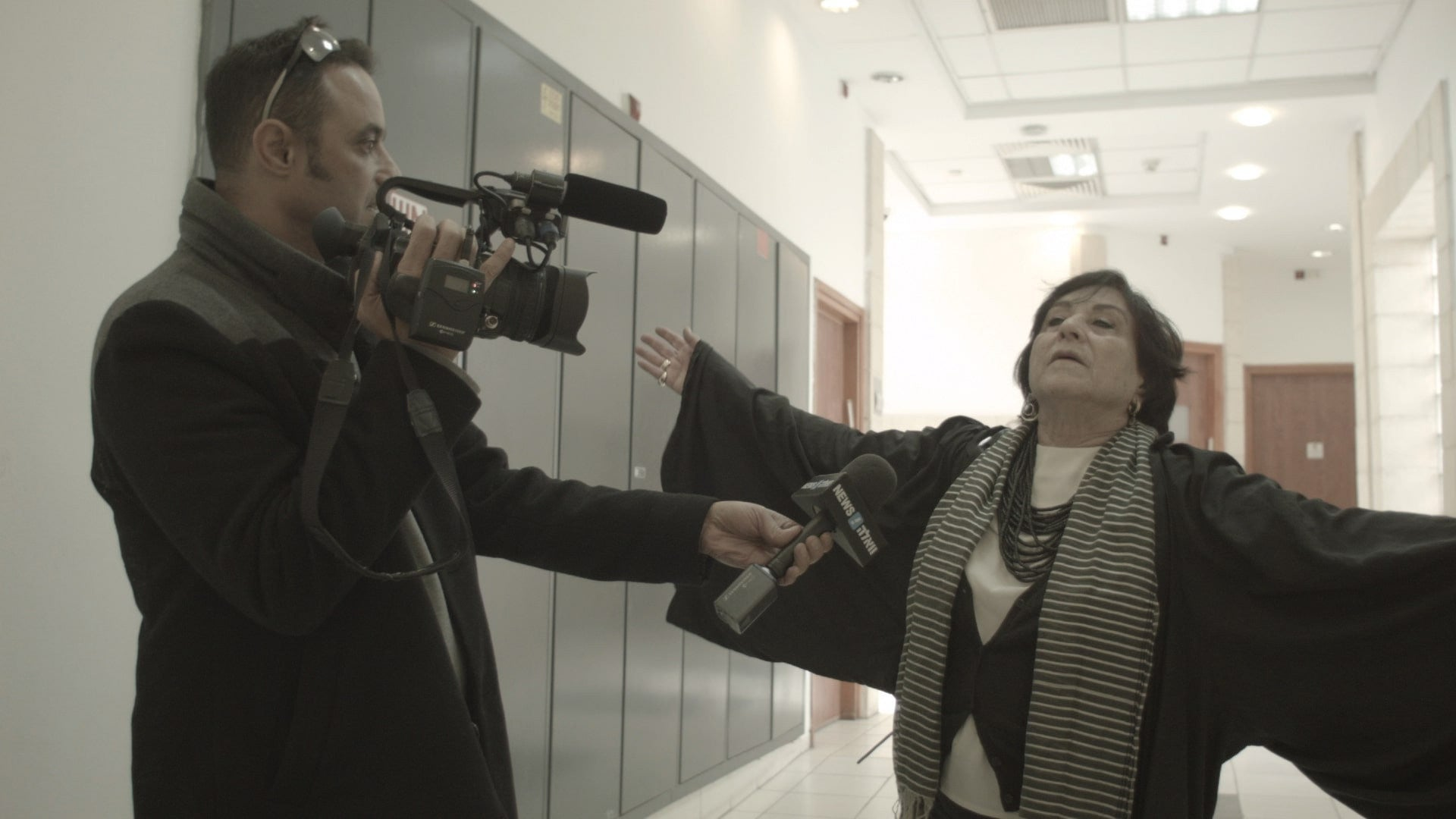 """A still image from """"Advocate,"""" a documentary about the Israeli human-rights lawyer Lea Tsemel."""