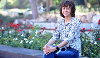 French biochemist Prof. Emanuelle Charpentier who won theWolf Prize in Medicine with Prof. Jennifer Doudna for spearheading discovery of the revolutionary gene-editing tool CRISPR-Cas9, in November.