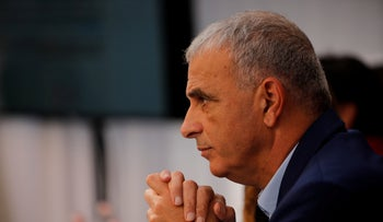 Kahlon campaigning in February 2019, but he's sitting this one out.