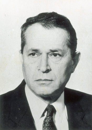 Nahum Admoni, Mossad operative then head of the Mossad, whose close ties with British special forces paved Israel's path to Muscat
