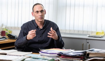 Head of the climatology branch of the Israel Meteorological Service, Avner Furshpan.