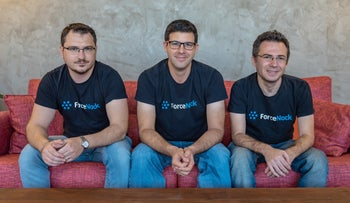 Co-founders of ForceNock, which was bought in January 2019 for $10 million by Israeli cybersecurity company Check Point Software Technologies.