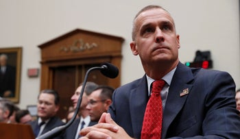Corey Lewandowski, former campaign manager for Trump, testifies before the House Judiciary Committee, Washington, September 17, 2019.