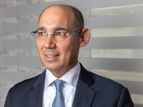 Bank of Israel governor Amir Yaron in his Tel Aviv office, January 27, 2020.