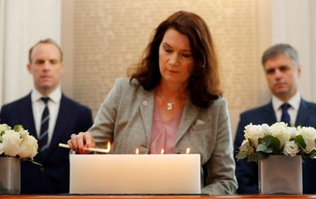 Sweden's Foreign minister Ann Linde. 'I am very clear about my sincere ambition to further deepen and broaden the relationship with Israel.'