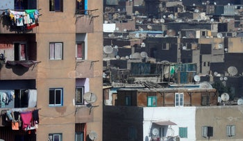 A view of housing at Ramlet Boulaq district in Cairo, Egypt January 29, 2020.