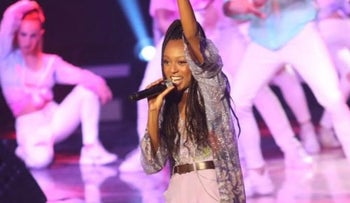 Eden Alene performs on 'The Next Star'
