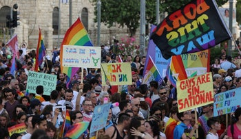 The 2019 Gay Pride Parade in Jerusalem.