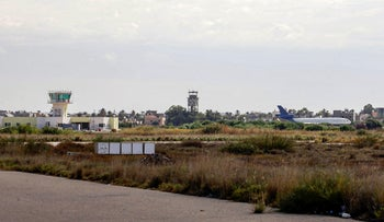 The Libyan capital Tripoli's Mitiga International Airport, on October 29, 2019.
