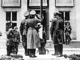 On September 22, 1939, when the two invading armies met at Brest-Litovsk in eastern Poland, the soldiers of the Wehrmacht and Red Army held a joint victory parade.