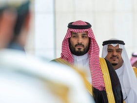 Saudi Arabia's Crown Prince Mohammed bin Salman attends a session of the Shura Council in Riyadh, Saudi Arabia, November 20, 2019.