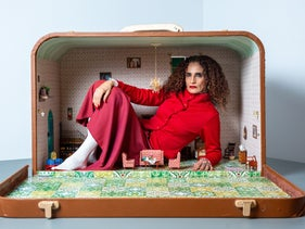 Oh no, don't you put me in that box: Actress and video artist Raida Adon, February 2020.