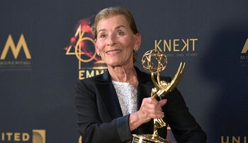 Judge Judy Sheindlin at the 46th annual Daytime Emmy Awards in Pasadena, California, May 5, 2019.