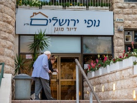 The Nofei Yerushaleim assisted living facility, Jerusalem, March 11, 2020.