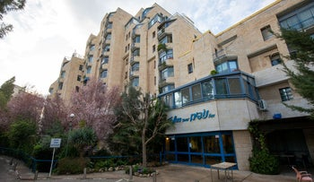 The Nofim Towers assisted-living facility in Jerusalem.