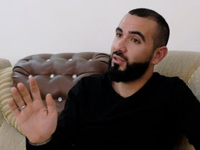 """Ahmed Musalah. """"'Mabruk, mabruk' some of the soldiers mockingly congratulated him, as he tried to explain to the commander that the money was for his wedding."""""""