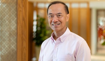 Former foreign minister of Singapore and author George Yeo