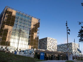 The International Criminal Court in the Hague, Netherlands, February 6, 2020.