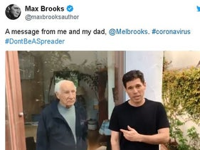 Mel and Max Brooks' father-son coronavirus PSA is a must-see
