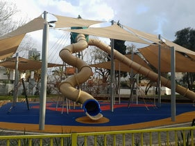 An empty playground in Israel, March 17, 2020.