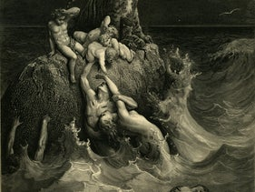 """The Deluge,"" from Gustav Doré's illustrated edition of the Bible (c. 1866)."