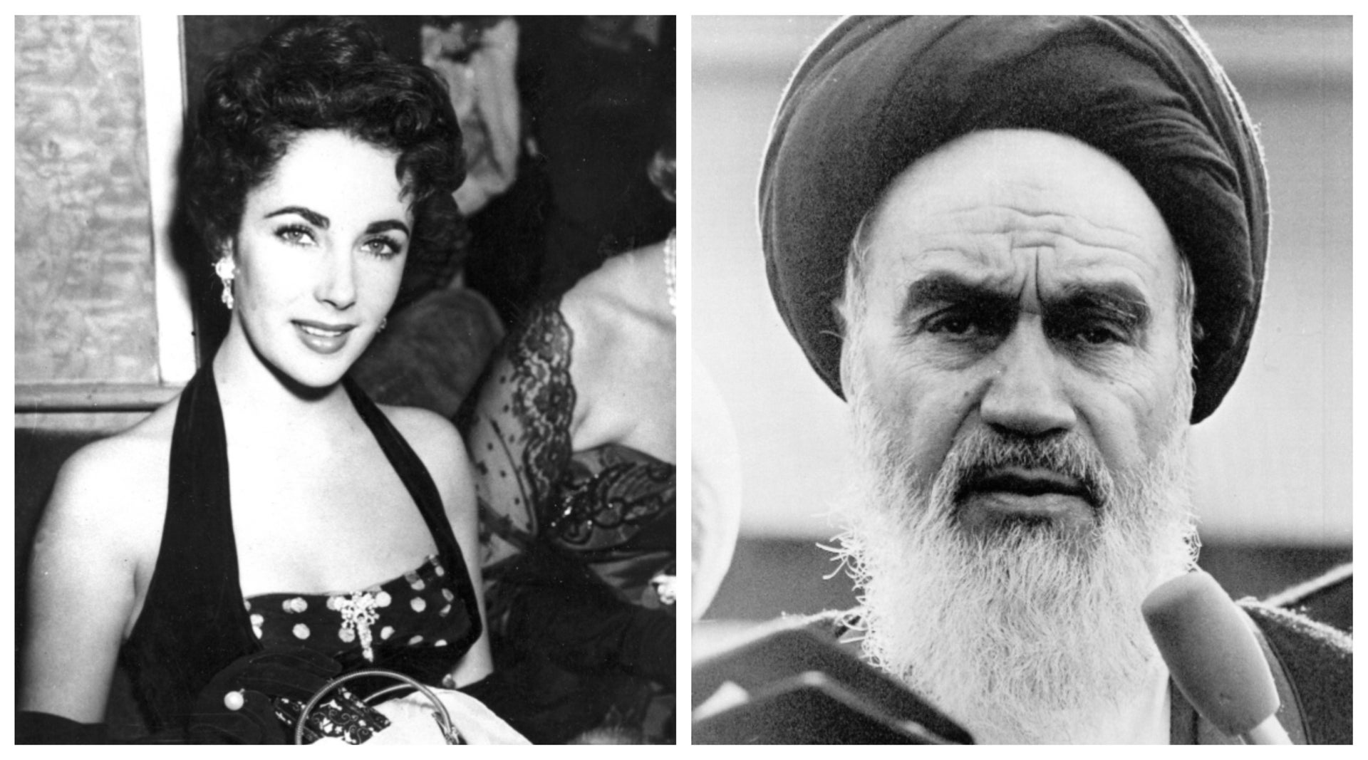 """Elizabeth Taylor and Ayatollah Ruhollah Khomeini, just two of the unlikely names who make cameo appearances in Hadley Freeman's """"House of Glass."""""""