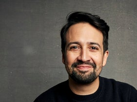Lin-Manuel Miranda poses for a portrait during the Sundance Film Festival, Park City, Utah, January 25, 2020.
