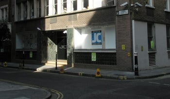 The Jewish Chronicle offices in London.