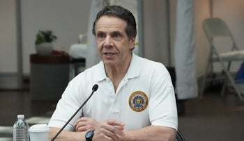 Governor of New York Andrew Cuomo.