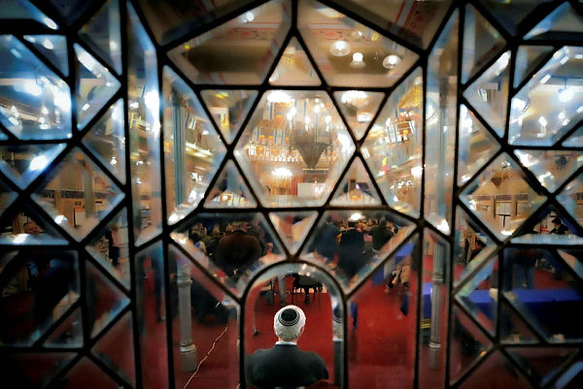 A commemoration service in January at the Great Synagogue in Bucharest, Romania for those killed in the 1941 pogrom.