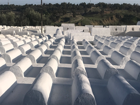 Jewish graves are seen at a cemetery in Fez, Morocco.