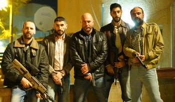 """The undercover team from season three of """"Fauda."""""""
