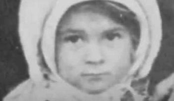 Larisa Breicher (née Shavzin) as a baby. The neighbors who saved her promised the Nazi officer she would be brought up Christian, but she was never baptized.