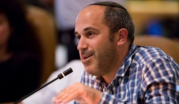 Arieh King at a Jerusalem City Council meeting in 2016.