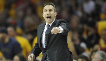Basketball coach David Blatt during his time as coach of Cleveland Cavaliers, in 2015.